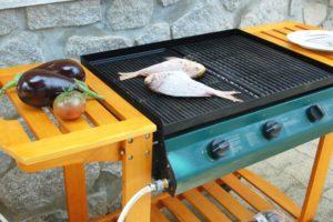 Villa Alba Dolce Appart barbecue grill à gaz