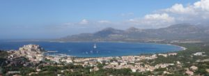 Villa Alba Dolce Calvi vue panoramique de ND de la Serra 1600