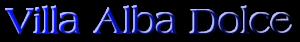 Villa Alba Dolce Logo Villa Alba Dolce 1