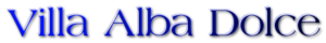 Villa Alba Dolce Logo Villa Alba Dolce 2