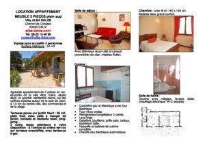 Villa Alba Dolce Plaquette LOCATION 2 PIECES