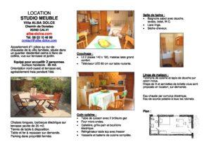 Villa Alba Dolce Plaquette LOCATION STUDIO